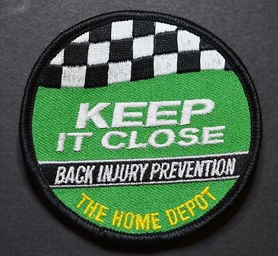 Home Depot Keep it Close Back Injury Prevention Patch