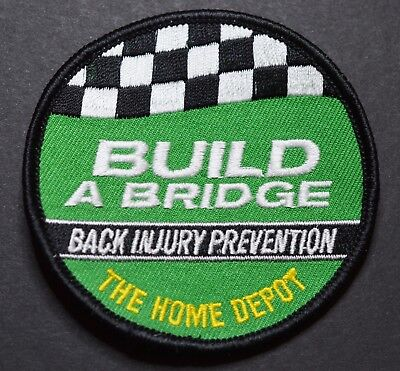 Home Depot Build a Bridge Back Injury Prevention Patch