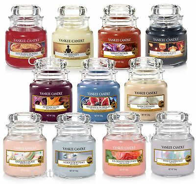 Yankee Candle Small Jar Including New 2018 Scents Classic Housewarmer®
