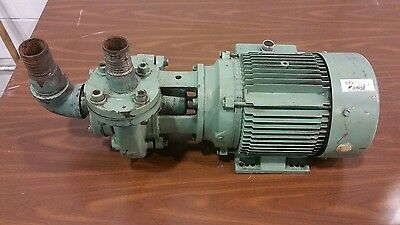 "Industrial Water / Trash Pump 3hp 3 ph ""Shipping Available"" #1084SR"