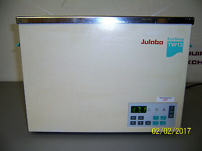 "9664 Julabo Tw12 Eco Temp Heated Water Bath 13.5"" X 10.5"" X 5.5"" Deep"