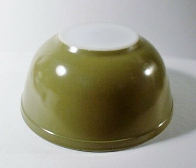 Vintage Pyrex AVOCADO GREEN 403 Mixing Bowl 2-1/2 Qt