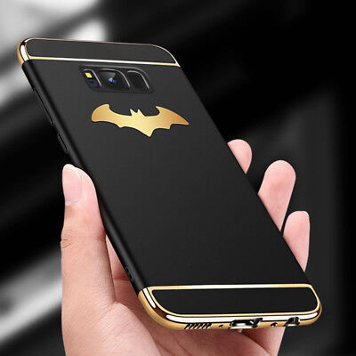 For Samsung S7 Edge S8 Plus Note 8 Shockproof 3D Batman Armor Plating Case Cover