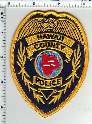 Hawaii County Police Shoulder Patch - new from the 1980's