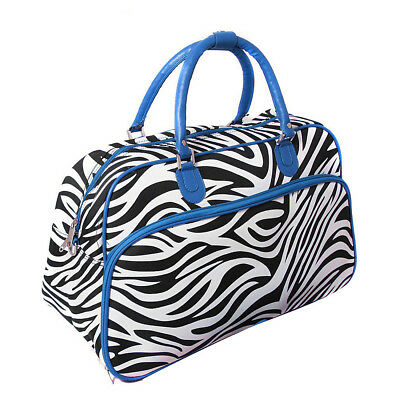 "World Traveler Zebra 21"" Carry-On Duffel Bag 7 Colors Rolling Duffel NEW"