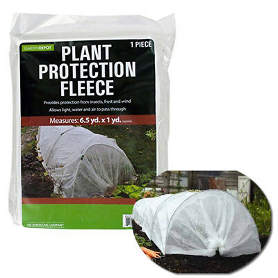 Plant Protection Blanket Fleece Insects Frost Winter Protect Cover Garden Yard