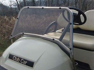 Club Car Golf Cart Part Stainless Steel Sport Windshield 2004-UP Precedent JAKES