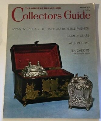 Vtg October 1970 Collectors Guide Japanese Tsuba Burmese Glass Aelert Cuyp