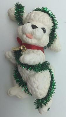 1994 Puppy Love Hallmark Ornament Poodle #4
