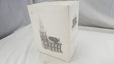 """Dept. Department 56 New England Village Series """"Old North Church"""" MINT IN BOX"""