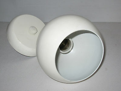 Vintage Heavy Duty Indoor Outdoor Wall Light Fixture made in USA by Remcraft