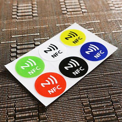 Waterproof NFC Smart Tag Stickers Rfid Tag Adhesive Label Ntag213 Chip 144bytes