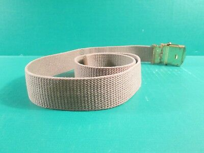 """Boy Scouts Of America """"BSA"""" Olive Green Belt With Brass Buckle"""