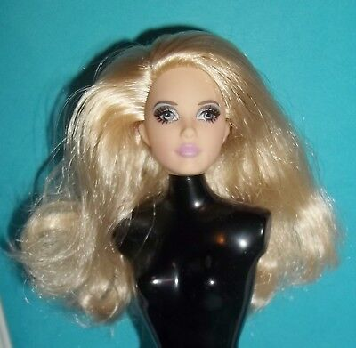 **head Only** Sultry Andy Warhol Barbie Karl Lagerfeld ~ For Ooak Model Muse New