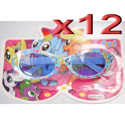 12pc Wholesale Bulk lots Kids Children Girls My Little Pony Outdoor Sunglasses