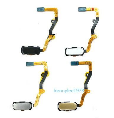 HOME KEY BUTTON Fingerprint Sensor Flex Cable For Samsung