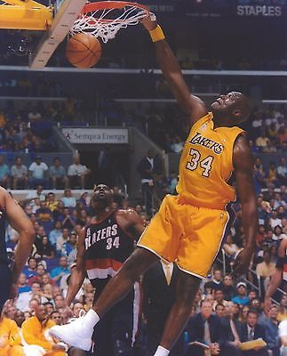 Shaquille O neal 8X10 Photo Los Angeles Lakers La Basketball Picture Shaq 71940796b
