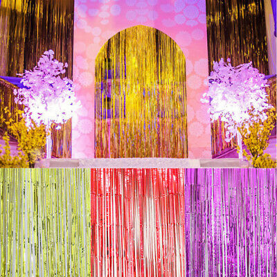 String Door Curtain Beads Room Divider Window Panel Tassel Fringe Decor