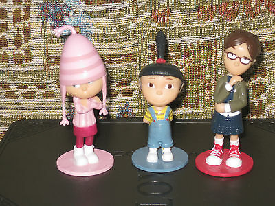 Despicable Me - Agnes, Margo, Edit- 3  toppers