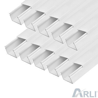 Cable Channel 30 x 20 mm PVC 15 M Tray installationskanal Electric Canal