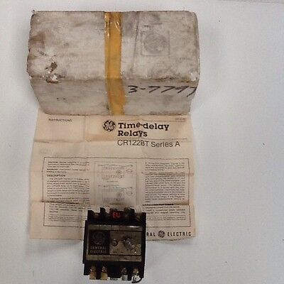 Ge Time Delay Relay Cr122B T00322A