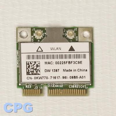 DELL INSPIRON 1370 NOTEBOOK 1397 HALF MINICARD WLAN TELECHARGER PILOTE