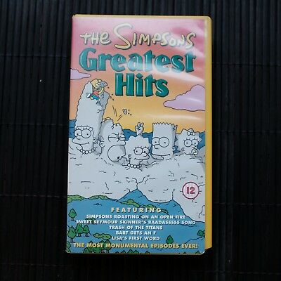 The Simpsons - Greatest Hits - Vhs