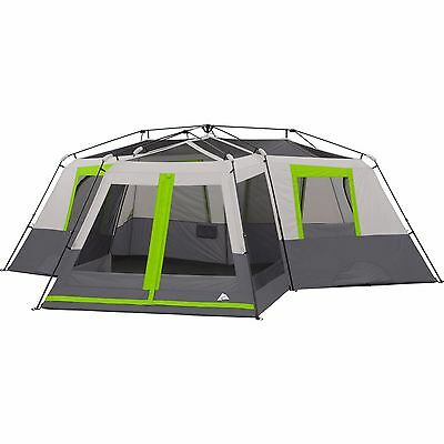 CABIN Tent For Camping 3 Room Divider Screen 12 Person Instant Big