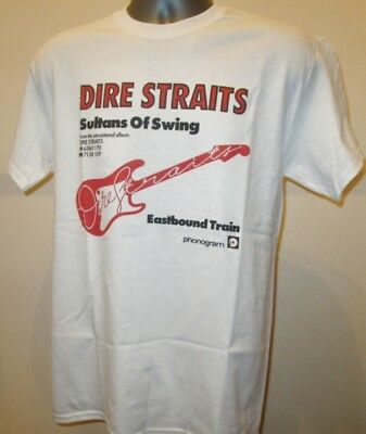 Dire Straits Classic Rock Music T Shirt Sultans Of Swing W176 Billy Joel Genesis