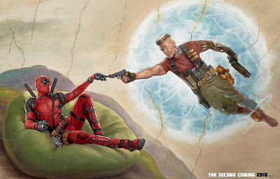 "DEADPOOL 2 ( 11"" x 17"" ) Movie  Collector's  Poster Print  - (T2) -  B2G1F"