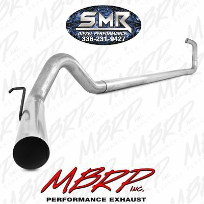 """MBRP 4"""" Turbo Back Exhaust No Muffler for 2003-2007 Ford Powerstroke 6.0L Diesel"""