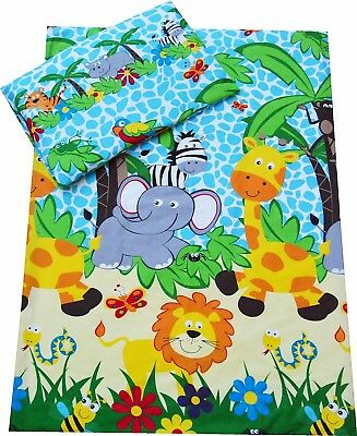 Cot/Cot Bed Bedding set Duvet cover+Pillowcase Baby, Toddler, Junior - Girl/Boy