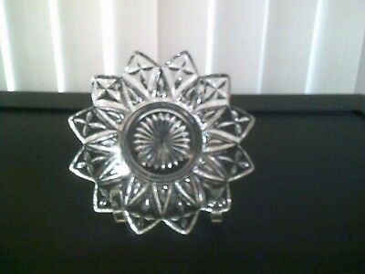 VINTAGE Federal Glass Petal Plate 6.5 Inches
