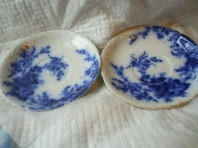 Blue and White Alfred Meakin England Plates Set of 2