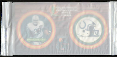 1995 Tombstone Pizza Marshall Faulk Indianapolis Colts (Unopened!) Pog NRMT/MINT