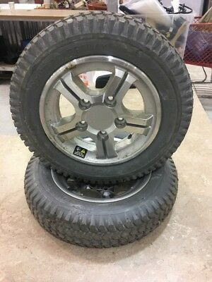 pride jazzy Quantum power wheelchair tires and wheels  Pr1mo 3.00x8