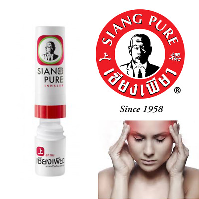 Siang Pure - Inhalateur nasal - Soulagement congestion nasale - Rhume