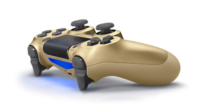 SONY PS4 Wireless Dualshock 4 Controller Original V2 2017 Neustes Modell, Gold .
