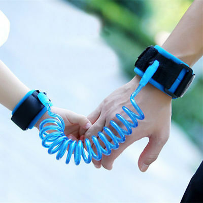 Toddler Kids Baby Safety Harness Hand Belt Walking Strap Anti Lost Wrist Band UK
