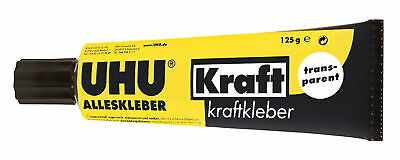 Uhu 45065 - Alleskleber Kraft, 125 g in Tube, transparent NEU