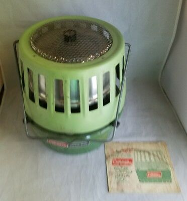 Vintage Coleman Catalytic 3500-5000 BTU Heater Model 513A708 with box & Manual
