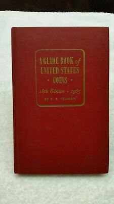 1965 18th Edition Redbook Guide Book of United States Coins
