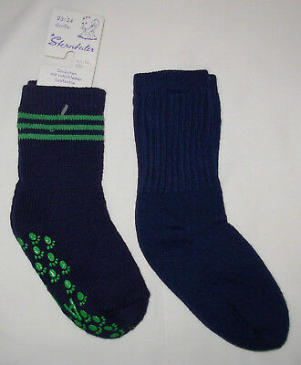 2 New Thick Pairs Boys Socks Size 4-5
