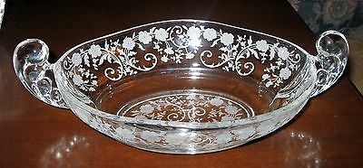 Fostoria Buttercup Etched Bowl