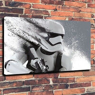 "Art QUALITY CANVAS PRINT  Stormtrooper Star Wars Home Wall Decor war,16""x24"""