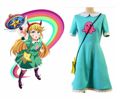 Star vs.the Forces of Evil Princess Star Butterfly Cosplay Costume Attire Outfit