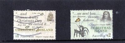 2017 Christmas Island Early Voyages Set Of Fine Used, High Value
