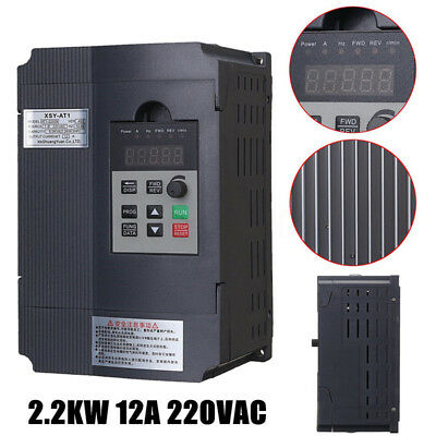 Frequenzumrichter Variable Frequency Driver Inverter VFD 2,2KW 3phase EU Stecker