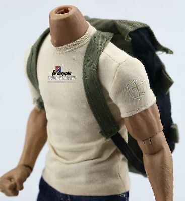 """1/6 Scale Backpack Camouflage Green Military Army Style Bag Model For 12""""Figure"""
