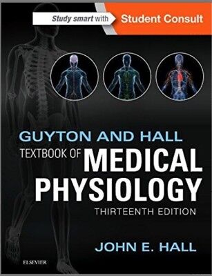 Guyton & Hall TextBook Of Medical Physiology 13th Edition - Read Details!